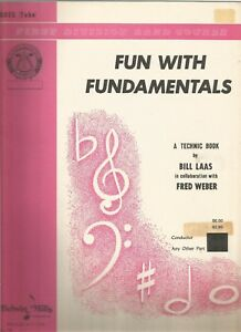 Bien éDuqué Fun With Fundamentals (first Division Band Course) Bass (tuba) By Bill Laas Prix RéDuctions