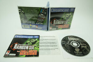 Sega Dreamcast * Rainbow Six * OVP con instrucciones