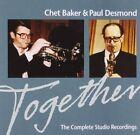 Together The Complete Studio Recordings Chet Baker Paul Desmond Audio CD