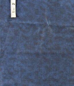 2 yd Dk Blue Tone on Tone Cotton Quilt Fabric,Filler,Face Masks,Crafts,Cranston