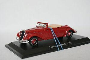 UH-Presse-1-43-Citroen-Traction-22-Cabriolet-1934