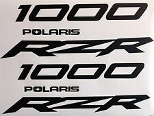 RZR XP1K POLARIS 1000 UNIVERSAL REPACEMENT EMBLEM STICKER GRAPHIC VINYL DECAL