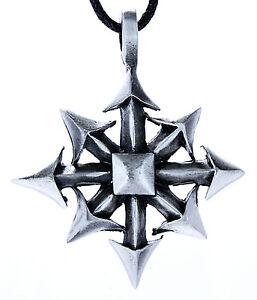 No-3-Stella-Caos-Chaos-Star-Stagno-Ciondolo-Amuleto-Larp-Magia