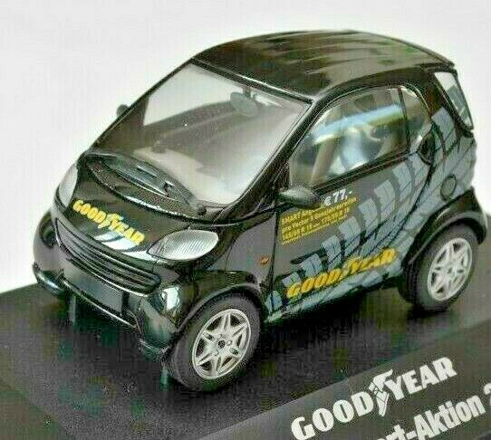 Herpa Smart good year vector Smart-acción 2004 negro de coche modelo ho 1 43 VP