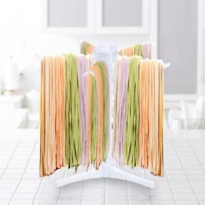Non-Slip-Design-Pasta-Noodle-Drying-Rack-Stand-Spaghetti-Fettuccine-Hanger-LA