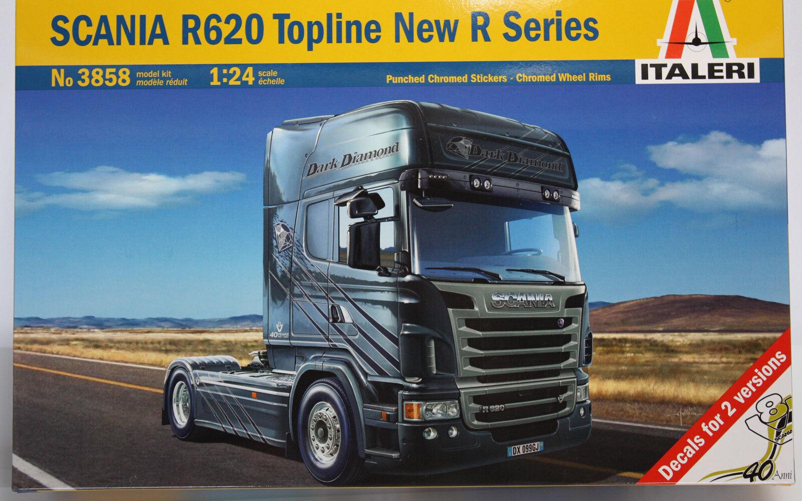 Italeri Camión Scania R620 Topline Nueva R Serie 1 24 3858