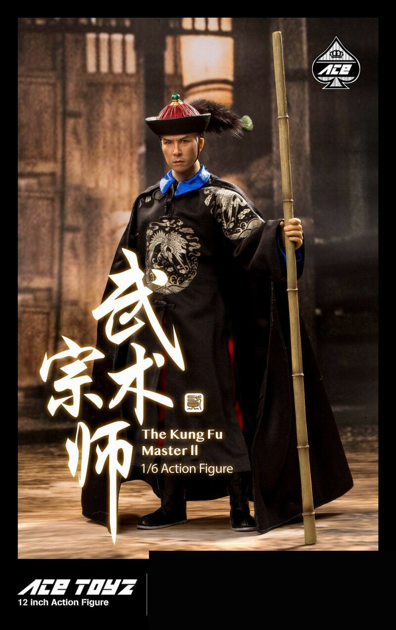 ACE TOYZ 1 6 AT-008 Fung Fu Master Donnie Yen FIGURE SET complet