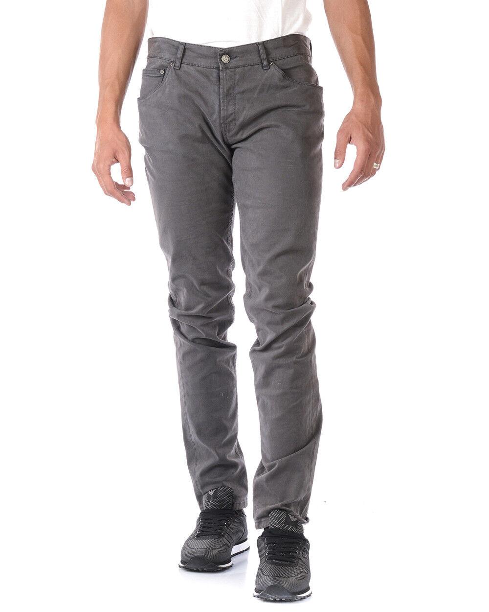 Jeans Daniele Alessandrini Jeans Cotone men grey PJ4610L1003435 10