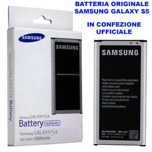 Batteria-SAMSUNG-GALAXY-S5-S5-NEO-EB-BG900BBE-G903F-2800mAh-NEW-100-ORIGINALE