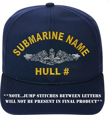 USS SCULPIN SSN-590    Direct Embroidered Cap...NEW