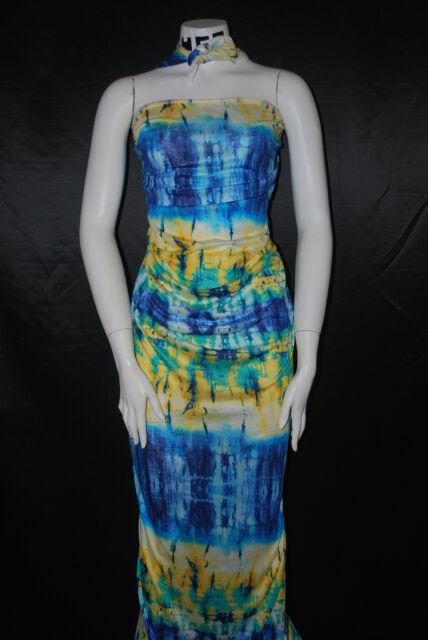Modal 100% Knit Jersey Fabric Ecofriendly  Tie-Dye  Print 6 oz Semisheer