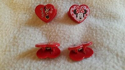 2 Xpair, Minnie Mouse, A Forma Di Cuore Clip, Accessori Per Capelli, Carta, Scegliere Quantità-ies For Hair,paper,choose Amount It-it Mostra Il Titolo Originale Tieniti In Forma Per Tutto Il Tempo