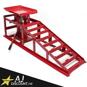 rampe de levage hydraulique 2 tonnes v rin jack 2t pont l ve voiture ebay. Black Bedroom Furniture Sets. Home Design Ideas