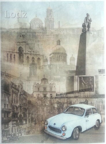 Lodz City Scrapbooking Craft Decoupage Sheets Rice Decoupage Paper