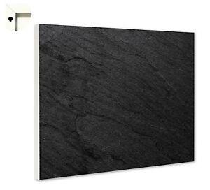 Magnettafel Pinnwand mit Motiv Muster Schiefer schwarz