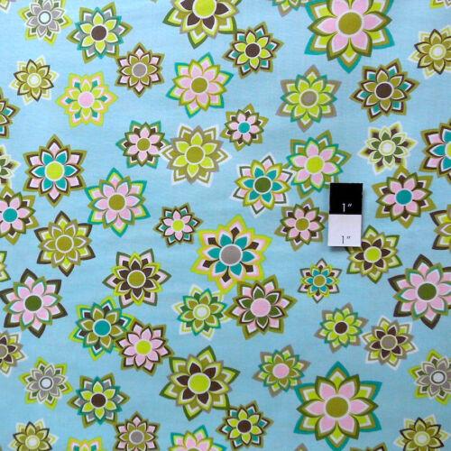 Jenean Morrison PWJM083 Beechwood Park Sunkissed Aqua Fabric By Yd