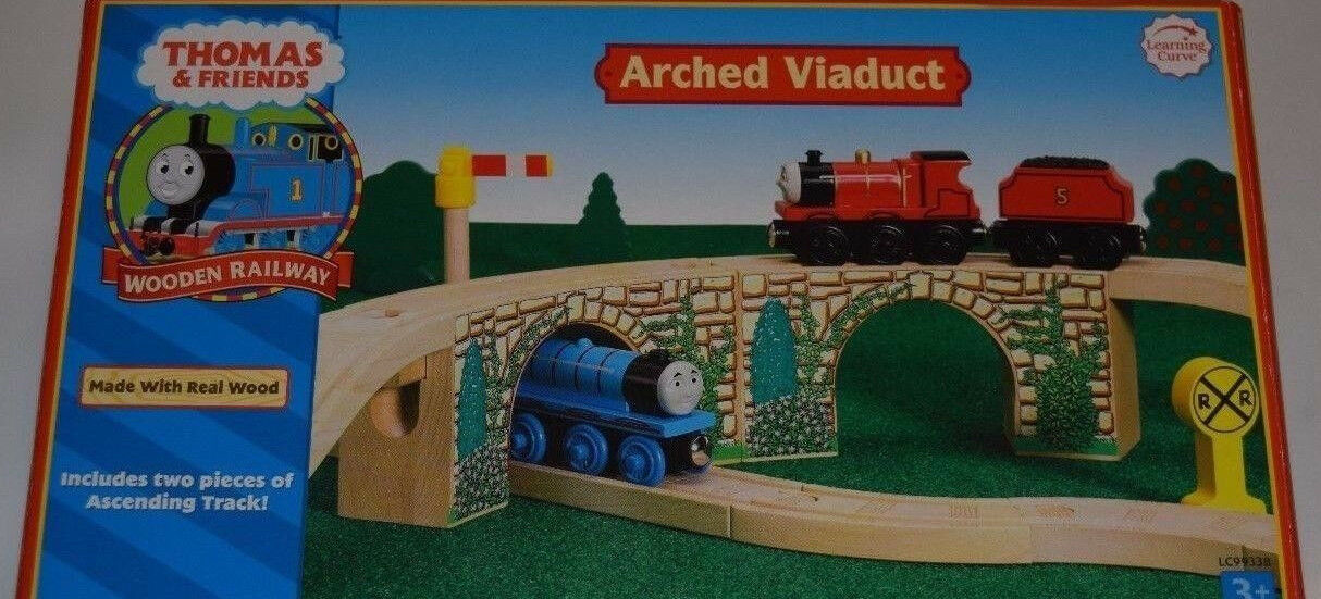 Learning Curve Thomas & freunde Holzen Railway -  ARCHED VIADUCT -  LC99338  new