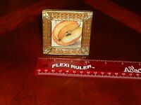 RARE BEAUTIFUL Jay Strongwater Mini Picture Frame ANT, PUMPKIN, Crystals