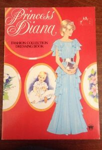 Princess-Diana-Fashion-Collection-Dressing-Paper-Doll-Activity-Book-Rare