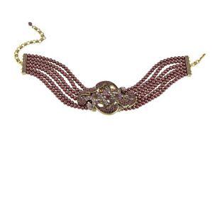 Heidi-Daus-034-Captivating-Carrie-034-6-Strand-Beaded-Choker-Necklace-Hsn-250