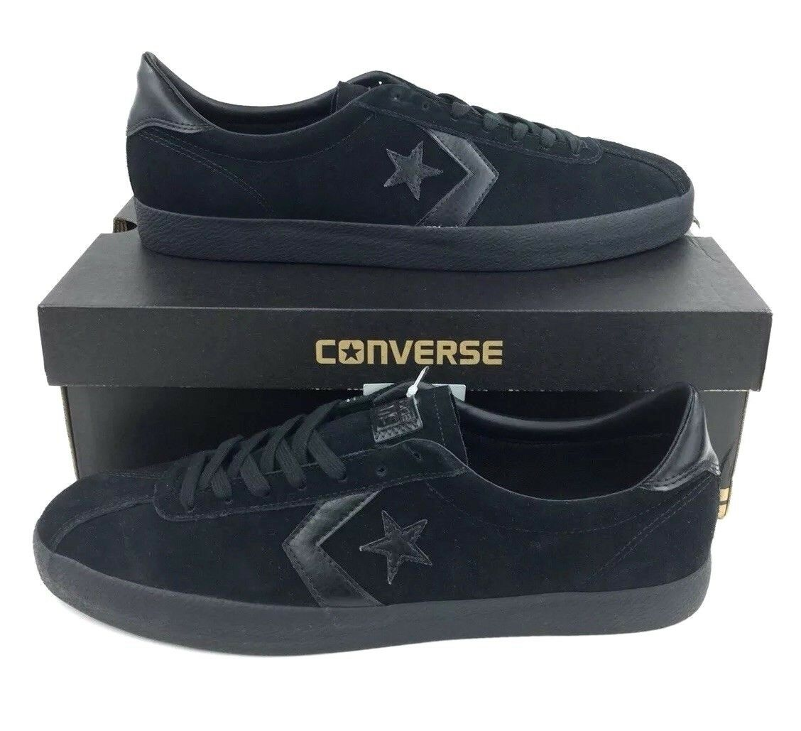 NEW Converse CONS Break Point Mono Suede Ox shoes Sneakers Black Mens Size 12