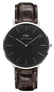 Daniel-Wellington-Watch-DW00100134-Classic-Black-York-40MM-Brown-Leather