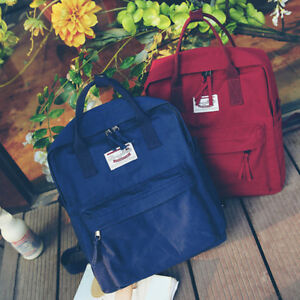 930ff3d2c6 Image is loading Korean-Style-Students-Bookbag-Fashion-Women-Girl-Backpack-