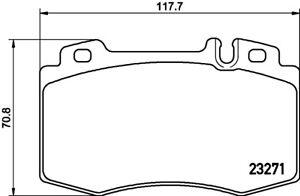 Mintex-Plaquettes-Frein-Avant-MDB2064-Brand-new-genuine-Garantie-5-an