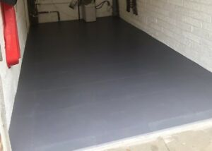 1m2 of superior garage van shed pvc flooring matting heavy duty