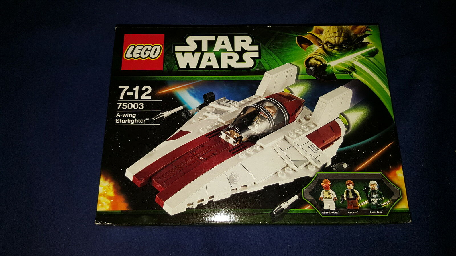 Lego Star Wars  75003 A-Wing Starfighter TOP
