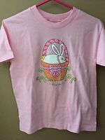 Girls 5 6 Mis Tee V Us Boutique Easter Bunny Shirt Top $28 S/s Pink