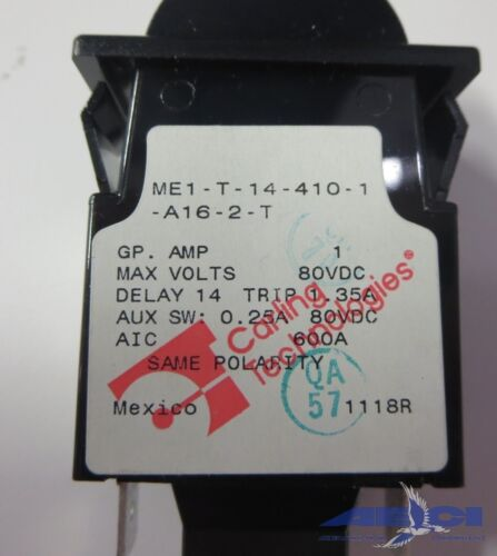 1A F Details about  /CARLING TECH ME1-T14-410-1A16-2-T CIRCUIT BREAKER LOT OF 3