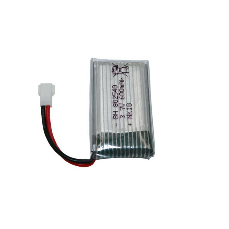 Image 5 - 2x-852540-Replacment-802540-3-7V-600mAh-XH-Plug-Battery-For-RC-Quadcopter-Drone