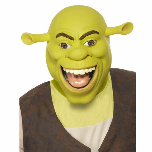 Shrek Latex Mask Great Quality Mask Genuine Brand Costume Accessory