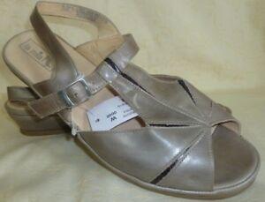 Schuhe La G Gr Damenschuhe 428Weite Details Leder Sandalette Sandale Mia Zu TlFc1J3K