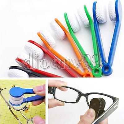 1/3/5X Mini Microfiber Glasses Eyeglasses Brush Sunglasses Spectacles Cleaning