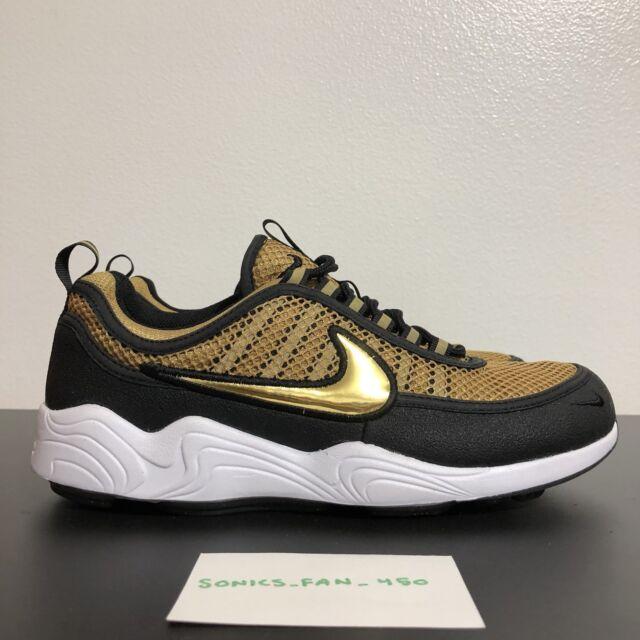 Nouvelles Arrivées 2af5c 85319 Nike Mens Air Zoom Spiridon Size 9 Gold Medal Olympic USA 849776-770