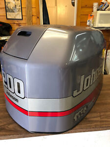 Details about 2000 Johnson 200 HP 2 Stroke Outboard Hood Top Cowl Cowling  Shroud Freshwater MN