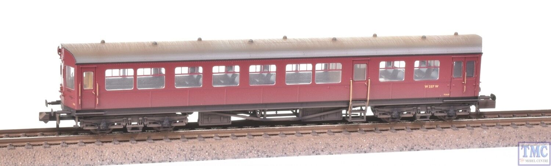 374-612 Graham Farish N Gauge Auto Trailer BR Crimson Weathered