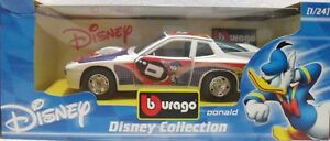 BURAGO-2217-DISNEY-COLLECTION-PORCHE-924-TURBO-DONALD-PAPERINO-sc-1-24-ITALY
