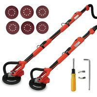 Electric Variable Speed Swivel Drywall Sander Wall 5 Speed 6 Ft Easy Reach Pole on sale