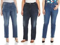 Levis 580 Plus Size Straight Jeans Womens Defined Waist Curvy Fit Stretch Denim