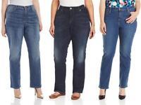 Levis 580 Plus Size Straight Jeans Womens Defined Waist Curvy Fit Stretch Denim
