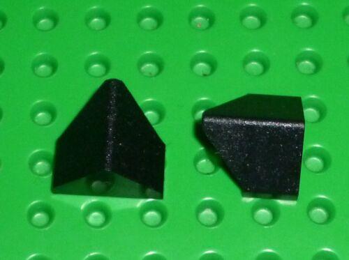 SLOPE LEGO x 2 3049 45/% 2 x 1 Double // Inverted SL123 BLACK