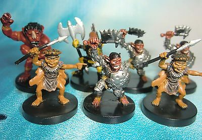 Dungeons & Dragons Miniatures Lot  Goblin Horde Attack !!  s104