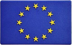 Euro-Europa-Europe-Emblem-Aufkleber-3D-Flagge-HR-Art-19164