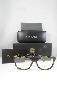 4c3b84cd9bfd Versace Women s Green Tortoise Glasses with box MOD 3225 5183 54mm ...