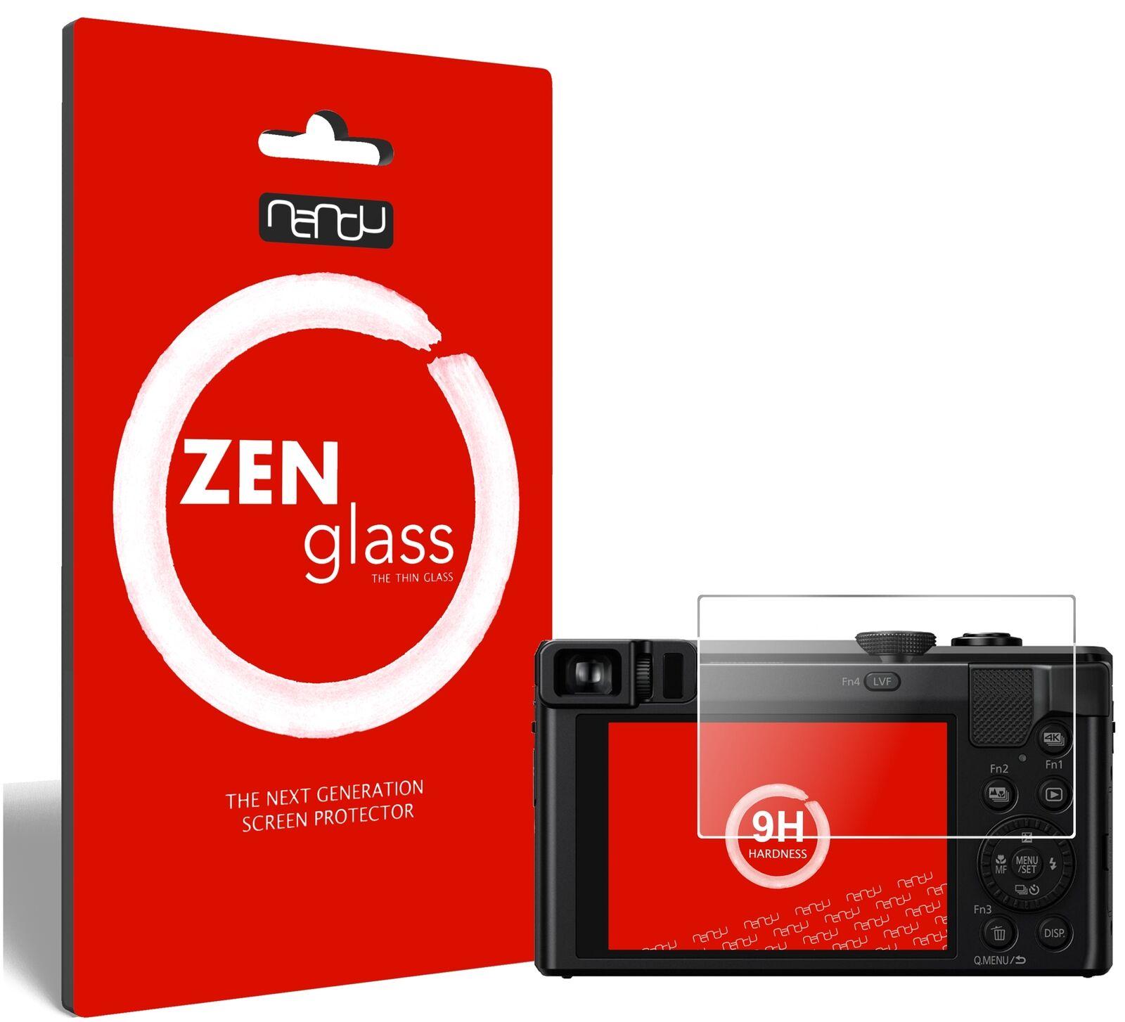 ZenGlass Flexible Glass Film for Panasonic Lumix TZ81 I Screen Protector 9H