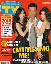 Sorrisi 2014 1.Numero Speciale.Gabriel Garko,Manuela Arcuri,Laura Torrisi