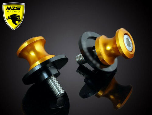 Swingarm Sliders Spools For Kawasaki Z1000 Ninjia 636 Motorcycle 10mm CNC 2 Pcs